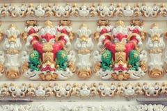 Garuda на виске в Таиланде Стоковое фото RF