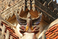 Garuda на крыше Стоковые Фотографии RF