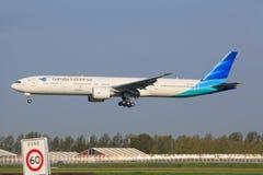 Garuda Airline Fotografia de Stock