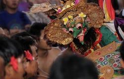 Garuda al ballo di Kecak Fotografia Stock Libera da Diritti