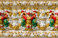 Garuda al tempio in Tailandia Fotografie Stock