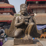 Garuda ao quadrado de Durbar em Kathmandu Fotos de Stock Royalty Free