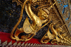 Garuda. The art garuda at the temple in Thailand Stock Photos