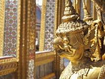 Garuda capo dell'oro Immagini Stock