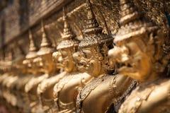 Garuda d'or de Wat Phra Kaew à Bangkok, Thaïlande Photo stock
