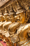 Garuda d'or de Wat Phra Kaew à Bangkok, Thaïlande Images libres de droits