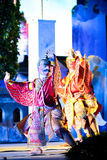 Garuda dance. In light and sound Royalty Free Stock Photography