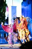 Garuda dance Royalty Free Stock Photography