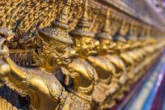 Garuda decoration on Grand Palace, Bangkok, Thailand Stock Images