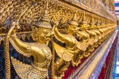 Garuda decoration on Grand Palace, Bangkok, Thailand Stock Photo