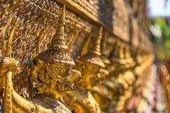 Garuda decoration on Grand Palace, Bangkok, Thailand Royalty Free Stock Images