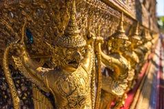 Garuda decoration on Grand Palace, Bangkok, Thailand Royalty Free Stock Photos