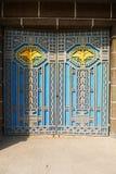 Garuda is on the door Stock Images