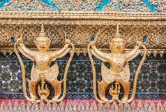 Garuda dourado de Wat Phra Kaew Fotografia de Stock Royalty Free