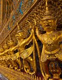 Garuda em Wat Phra Kaew em Tailândia Foto de Stock