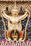 The Garuda at the Emerald Buddha Temple. Bangkok, Thailand stock image