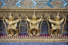 The Garuda. At the Emerald Buddha Temple, Bangkok, Thailand Royalty Free Stock Photos