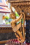 Garuda et Nagas Photos stock