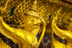 Garuda gold Royalty Free Stock Image