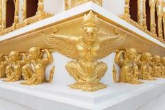 Garuda and Hanuman statues. Royalty Free Stock Photos