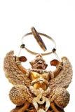 Garuda hizo las hojas del ââfrom Fotos de archivo