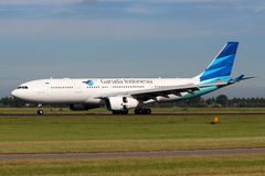 Garuda Indonesia Airbus A330-243 Royalty Free Stock Image
