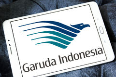 Garuda indonesia airlines logo Royalty Free Stock Photo