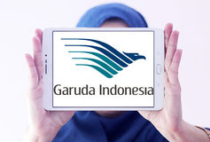 Garuda indonesia airlines logo Stock Photos