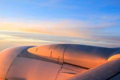 Garuda Indonesia no céu Foto de Stock