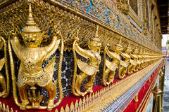 garuda kaew phra泰国wat 免版税库存图片