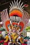 曼谷菩萨鲜绿色garuda kaew phra雕象寺庙泰国wat 免版税图库摄影