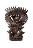 Garuda in legno Fotografie Stock Libere da Diritti