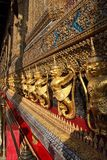 Garuda and Nagas , Bankok, Thailand Royalty Free Stock Photos