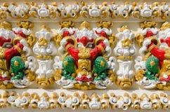 Garuda på templet i Thailand Arkivfoton