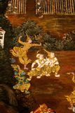 Garuda Painting in Royal Palace, Bangkok, Thailand. 