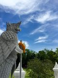 Garuda protect the sky Royalty Free Stock Photography