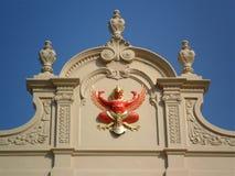 Garuda rojo Imágenes de archivo libres de regalías