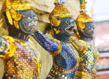 Garuda sculpture. In Royal palace. Bangkok, Thailand Stock Photography
