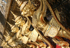 Garuda sculptures Stock Photo