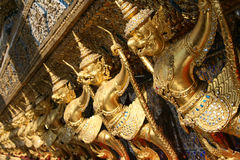 Garuda sculptures Royalty Free Stock Photo