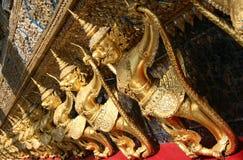 Garuda sculptures Stock Photography