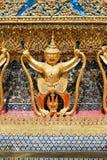 Garuda Sculture del tempio Wat Phra Kaew Immagini Stock Libere da Diritti