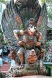 Garuda statua przy Haw willi Równym parkiem tematycznym w Singapur zdjęcie royalty free