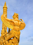 Garuda statue. Bird in the legend of thailand Royalty Free Stock Image