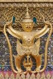 Garuda statue. Temple of the Emerald Buddha (Wat Phra Kaew), Bangkok, Thailand Stock Images