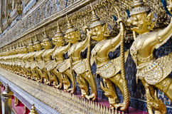 Garuda statue. Temple of the Emerald Buddha (Wat Phra Kaew), Bangkok, Thailand Stock Photos