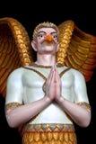 Garuda Statue in Dhammakaya temple in Thailand Stock Image