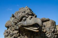 Garuda  statue  in GWK cultural park Bali Indonesia Stock Image