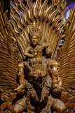 Garuda statue of the Hindu. Royalty Free Stock Image
