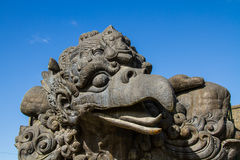 Garuda-Statue in kulturellem Park Bali Indonesien GWK Stockbild